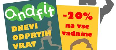 DNEVI ODPRTIH VRAT ANDFIT 2013